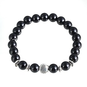 New Arrival Nature Stone Shell Strand Bracelets Daily / Casual 1pc Hot Sale 4973889