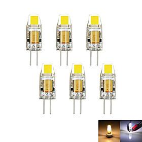 2W G4 LED à Double Broches MR11 1 COB 100-150 lm Blanc Chaud Blanc Froid 3000-6000 K Décorative Intensité Réglable DC 12 AC 12 V 4980145