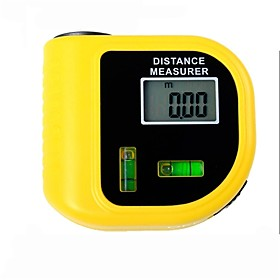 Electronic Laser Distance Meter Tester with LCD Digital Screen  (Range: 2~60ft,/-5%)