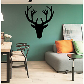 Wall Stickers Wall Decals Style Antlers PVC Wall Stickers 4955077
