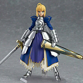 Fate/Stay Night Saber PVC 14CM Anime Action Figures Lovely Doll Toys Model Anime Action Figure 4851258