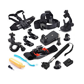 Accessories For GoPro,Monopod Case/Bags Buoy Suction Cup Clip Hand Grips/Finger Grooves Mount/HolderFor-Action Camera,Gopro Hero1 Gopro 2405790