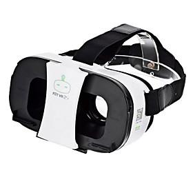 FiiT VR 2s Virtual Reality 3D Video Helmet Glasses - White  Black 4959744