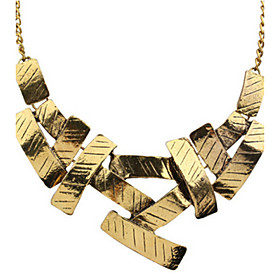 Women's Statement Necklace - Statement, Vintage, Fashion Silver, Golden Necklace Jewelry For Wedding, Party, Daily