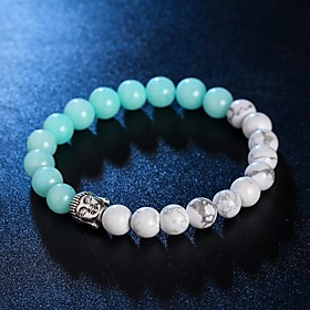 New Arrival 5 Colors Nature Stone Buddha Bracelet Strand Bracelets Daily / Casual 1pc Hot Sale 4973885