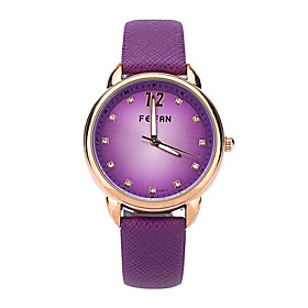 Feifan Women Quartz Wristwatch Hot Fashion Colorful Numerals Casual Watch Clock Hours High Quality Pu Leather Watch Cool Watches Unique Watches 4999461