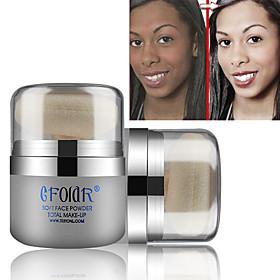 1 Foundation Dry Matte Shimmer Powder Whitening Moisture Coverage Oil-control Long Lasting Uneven Skin Tone Natural Pore-Minimizing 5015703