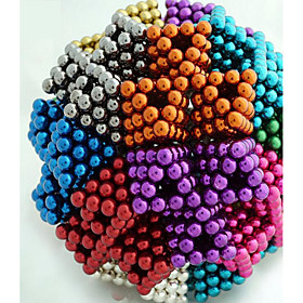 Magnet Toys 216 Pieces 5 MM Magnet Toys Building Blocks Magnetic Balls Executive Toys Puzzle Cube For Gift 5026633