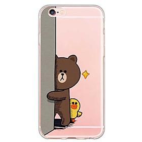iPhone SE/5s/5 TPU Cartoon Translucent Back Cover 5046617