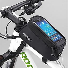 ROSWHEEL Bolsa para Bicicleta 1.5LBolsa para Cuadro de BiciCremallera a prueba de agua Listo para vestir A Prueba de Humedad A Prueba de 5021828