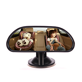 IZTOSS Baby Car Mirror Back Seat Rear-facing Infant In Sight Adjustable Car Baby Rear View Mirror with Suction Cup 5010178