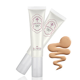 By NANDA Face Smooth Makeup Base Primer Cream Balm Cover Wrinkle Pores Brighten Dull Skin Whitening Cream 5015699