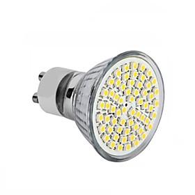 1X 5X 10X Digoo Parrot Seires GU10 5W 18 SMD 2835 LED Ceram Glass Pure White Warm White Spot Light Bulb AC220V
