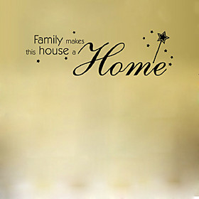 Wall Sticker Family  Home Decor Quotes Office Decoration Mural Wall Quote 5003586
