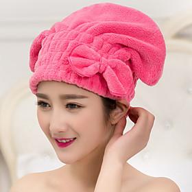 Multicolor Hair Towel Turban Wrap Microfiber 5011217