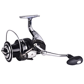 RS7000 All Metal Light Cup Long Casting Fishing Reel 4.9:1 121 Ball Bearings Spinning Reels Sea Fishing For Big Fish 4611