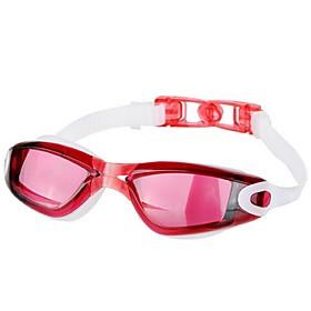 Electroplating Anti-fog Hd Waterproof Swimming Glasses for Men and Women 5014766