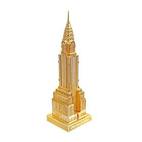 Metal Building Blocks DIY Toys For Kids Silver / Gold
