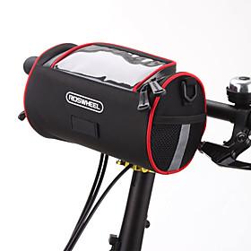ROSWHEEL Bolsa para Bicicleta 2.8LBolsa para Manillar Bolsa de hombroCremallera a prueba de agua Listo para vestir A Prueba de Humedad A 5020846