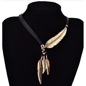 Necklace Pendant Necklaces Jewelry Daily / Casual Fashion Silver Plated / Gold Plated Gold / Silver 1 pair Gift 5020383