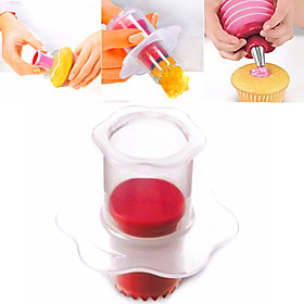 Cup Cake Hole Maker Cake Cream Decoration Maker Cake Corer Random Color 5005687