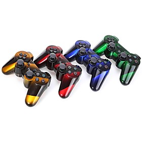 Wireless Dual Shock Six Axis Bluetooth Controller for SONY PS3 (Multicolor) 5048578