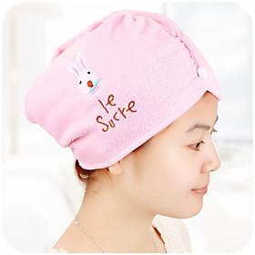 Multicolor Hair Towel Turban Wrap Microfiber 5011216