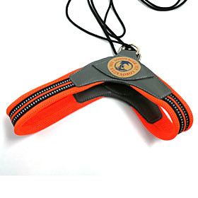 Dog Harness Orange Winter / Summer / Spring/Fall Geometic Fashion-Lovoyager 5023439