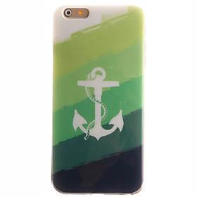 Per Custodia iPhone 6 \/ Custodia iPhone 6 Plus IMD Custodia Custodia posteriore Custodia Ancora Morbido TPU AppleiPhone 6s Plus\/6 Plus \/