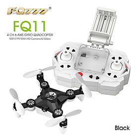 FQ777 FQ11 Wifi FPV With Foldable  3D Mini 2.4G 4CH 6 Axis Headless Mode RC Quadcopter RTF 5051592