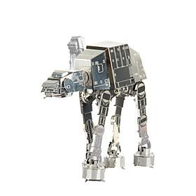 Jigsaw Puzzles 3D Puzzles / Metal Puzzles Building Blocks DIY Toys Metal Silver Model  Building Toy 5026544