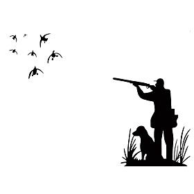 Wall Stickers Wall Decals Style Wildfowl PVC Wall Stickers 5019460