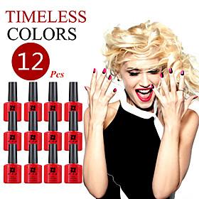 (Choose 12) ANA Nail UV 10ml 200 Fashion Color Long-lasting LED Gel Polish Top Fashion 5005492