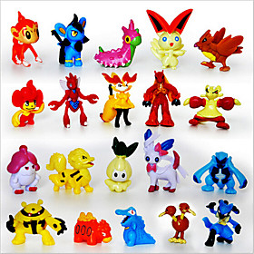 Pocket Little Monster 24pcs Action Figures Cute Monster Mini Figures Toys Best ChristmasBirthday Gifts Brinquedos 3cm 2340653