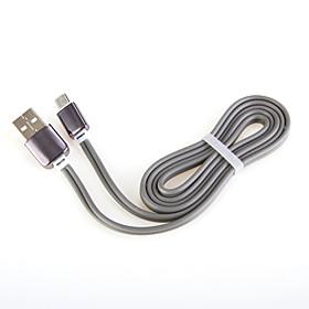 ricarica rapida USB alluminio del cavo del caricatore 2.0 per il cavo generale smartphone Android di Samsung (1,0 m)