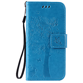 Case For Apple iPhone X / iPhone 8 / iPhone 6 Plus Wallet / Card Holder / with Stand Full Body Cases Tree Hard PU Leather for iPhone X / iPhone 8 Plus / iPhone