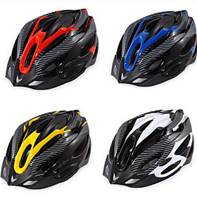 Adults Bike Helmet 19 Vents Impact Resistant, Light Weight, Adjustable Fit EPS Sports Road Cycling / Recreational Cycling / Cycling / Bike - Yellow / Red / Blu