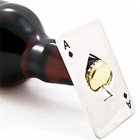 nuovo elegante vendita calda 1pc giocare a poker asso di picche strumento bar dono soda birra bottiglia opener 5060899