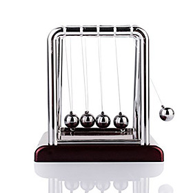 Mini Desktop Newton's Cradle Classic Newtons Cradle Balance Balls Science Psychology Puzzle Desk Toy 368009