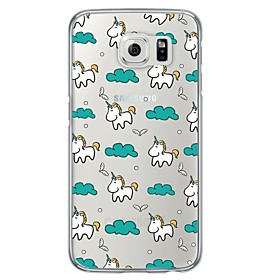 Cartoon Pattern TPU  Ultra-thin Back Cover Case for Samsung Galaxy S6 / Galaxy S5 / Galaxy S4 5065260