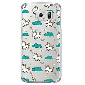 Cartoon Pattern TPU  Ultra-thin Back Cover Case for Samsung Galaxy S6 / Galaxy S5 / Galaxy S4 5065260