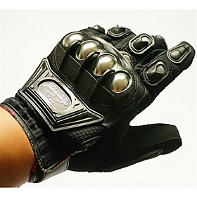 Alloy Shell Protective Motorcycle Gloves Summer Riding Electric Car Accessories New Car Riding Equipment 5132383