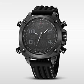 WEIDE Men's Luxury Brand Double Time Analog-Digital Multifunctions Waterproof Sports Watch Fashion Watch 5068905