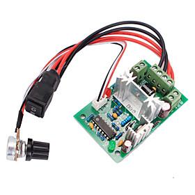 120W PWM vende switch dc motorhastighed controller frem / bak-kontakten 5070528