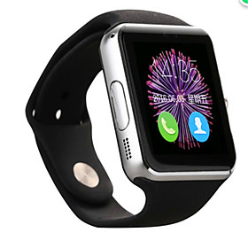 Smartwatch for iOS / Android Calories Burned / Hands-Free Calls / Camera Call Reminder / Sleep Tracker / Sedentary Reminder / Alarm Clock / Calendar / 1.3 MP /
