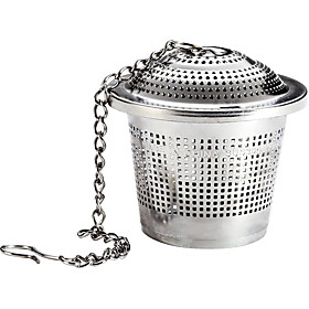 OakTea Strainer 304 Food Grade Stainless Steel Tea Strainer with Lid Tea Filter for Tea Cup Mug and Teapot, Large Size 5078168