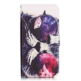 Flip Glasses Cat PU Leather Soft Wallet Case Cover For Samsung Galaxy Note 7 / Note 5 Edge / Note 5 5104285