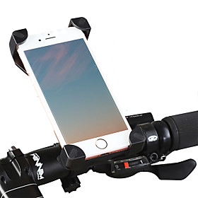 Bike Phone Mount Adjustable GPS Ultra Light (UL) for Road Bike Mountain Bike MTB BMX PVC(PolyVinyl Chloride) iPhone X iPhone XS iPhone XR Cycling Bicycle Black