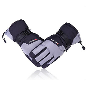 Ski Gloves In Winter With Warm Thickened Waterproof Villi Cotton Gloves For Electric Vehicle And Motorcycle Gloves 5129827