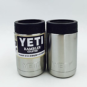Hot Bilayer Stainless Steel Insulation Cup 12 OZ YETI Cups Cars Beer Mug Large Capacity Mug Tumblerful 5113900